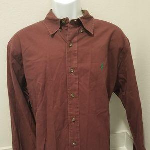 Ralph Lauren Men's Shirt Long Sleeve